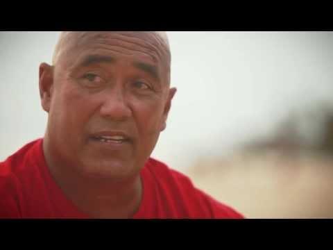 Makaha Lifeguard and Waterman Mel Puu