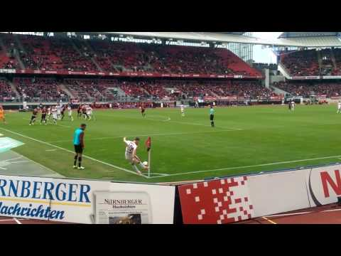 Nürnberg Stuttgart 29.4.2017 Ausgleich 2:2