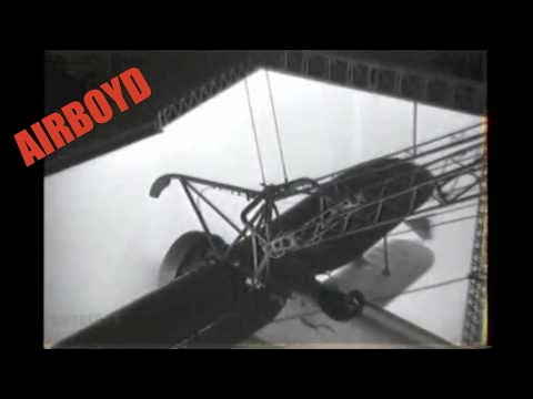 Biplane Launch From