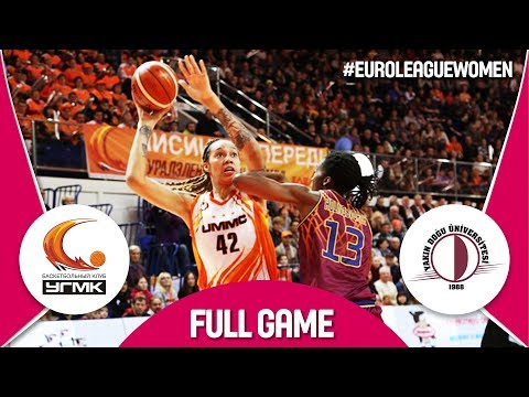 UMMC Ekaterinburg (RUS) v Yakin Dogu Universitesi (TUR) - Full Game - EuroLeague Women 2017-18