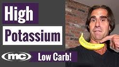 High Potassium Low Carb Diet (Best Source of Potassium)