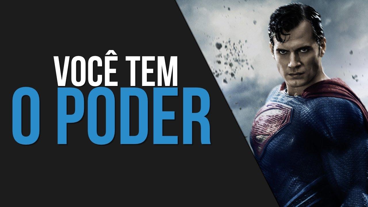 Você Tem O Poder Video Motivacional Primeiro Voo Superman