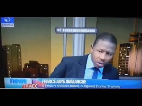 Funny Reaction of Channels TV Presenter as Phone rings on Live TV