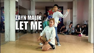 Download Lagu ZAYN - Let Me || Alan Rinawma Dance Choreography Mp3