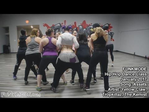 Assets - Yellow Claw, Tropkillaz, The Kemist - FUNKMODE Adult Hip Hop Dance Class - Jan 2017