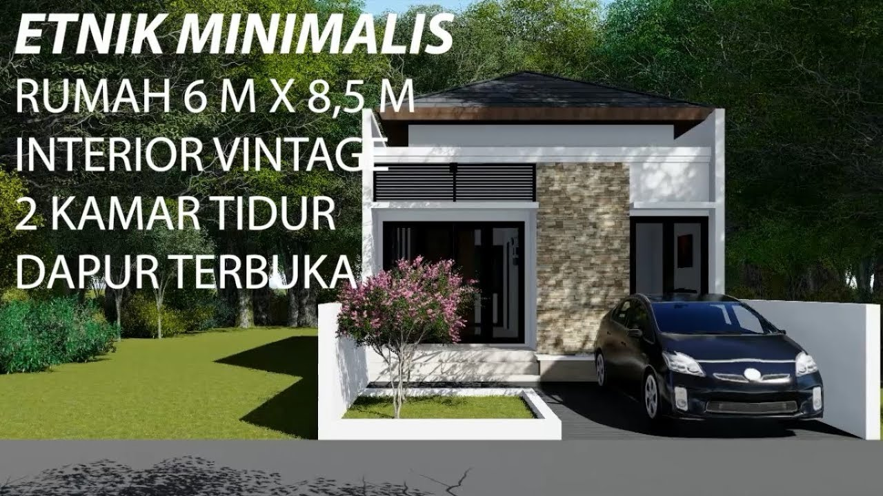 Inspirasi Desain Rumah Etnik Minimalis | Interior Vintage ...