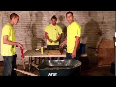 Making Your Own Concrete Pavers Youtube