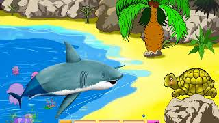 домовенок бу мир животных,жираф кенгуру акула