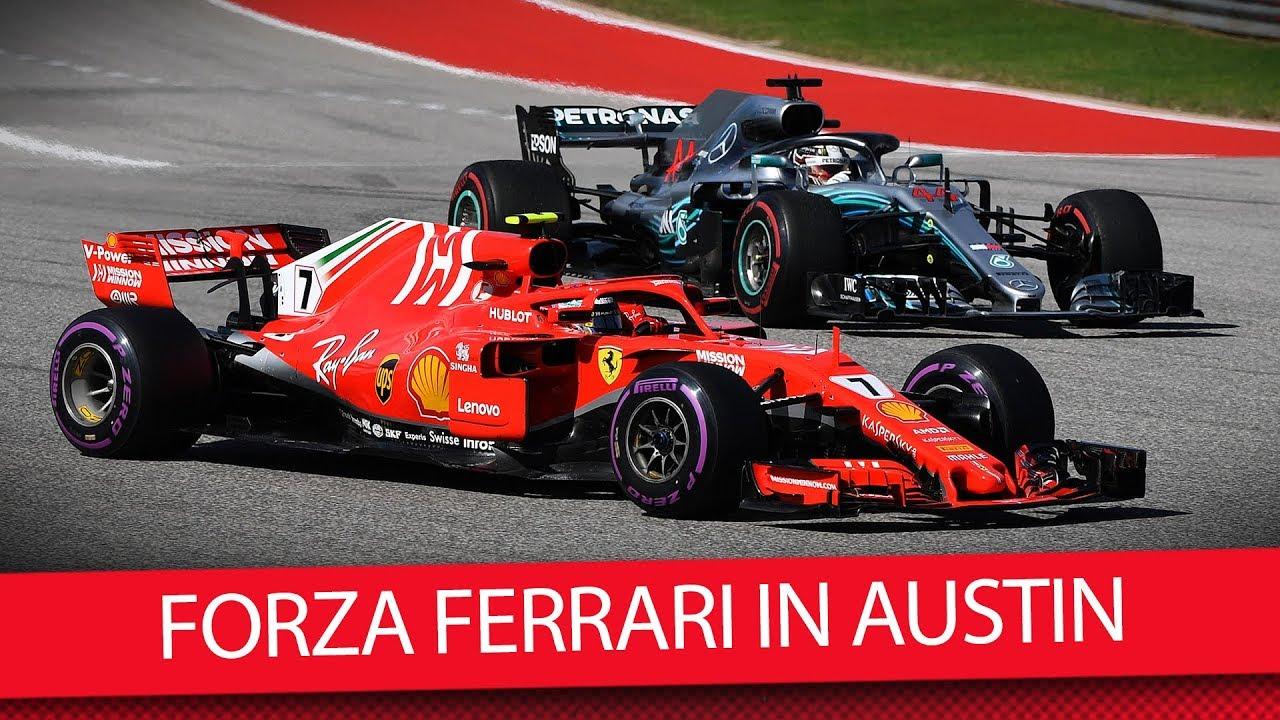Was Ist Bei Ferrari Los Usa Formel 1 2018 Vlog Youtube
