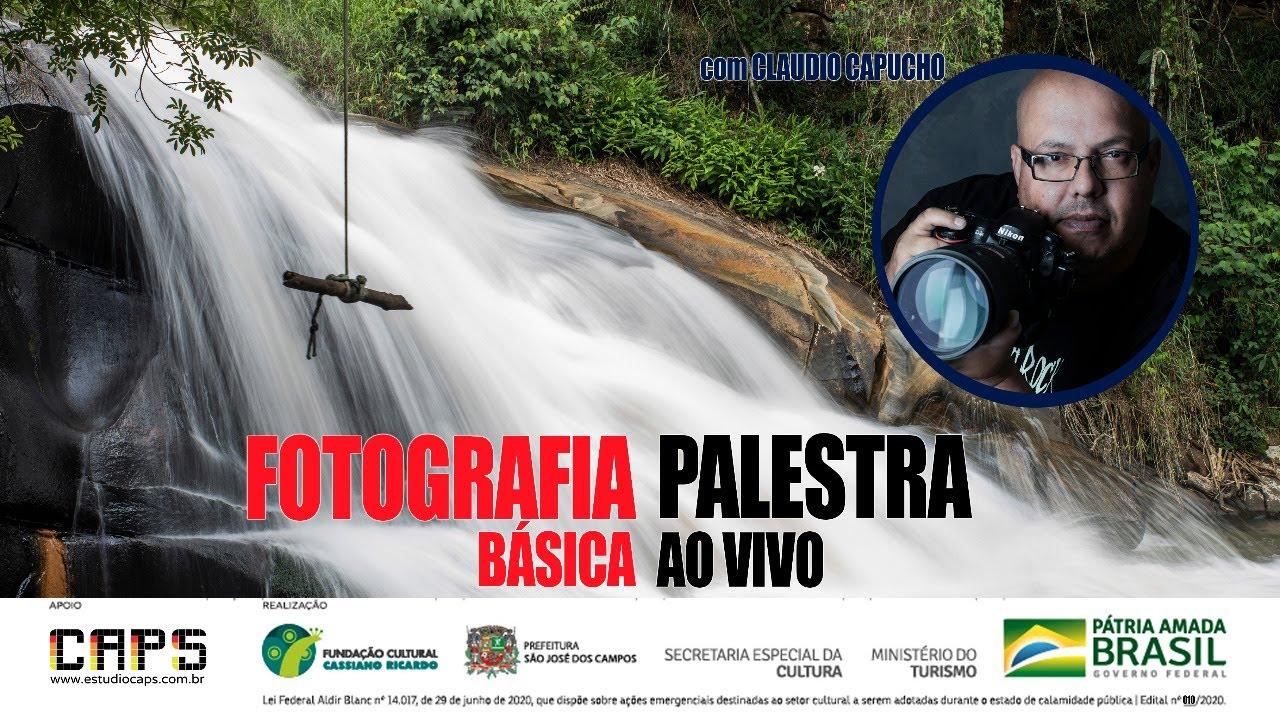 Palestra sobre fotografia, com Claudio Capucho
