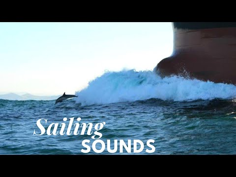 Ship - Relaxing sound of sea, waves and wind HD