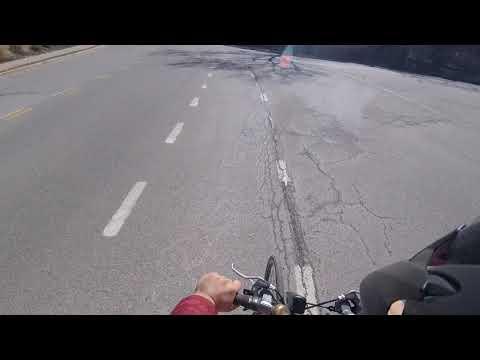 Biking:  Oakland--Squirrel Hill--Oakland