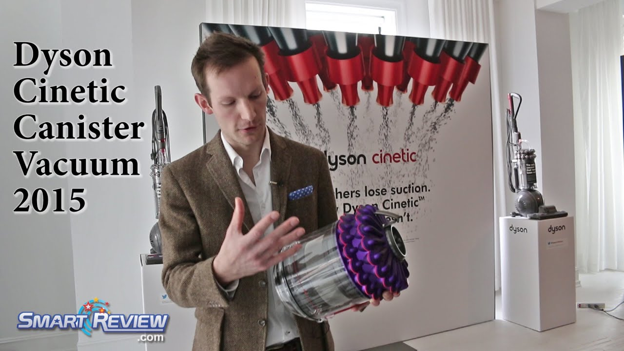 dyson dyson cinetic canister vacuum cleaner cinetic science explained youtube - Dyson Cinetic