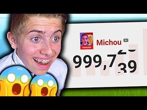 🔴 ON DÉPASSE LES 1 000 000 D'ABONNÉS EN PLEIN LIVE !!!