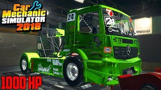 1000HP RACE TRUCK - Car Mechanic Simulator 2018
