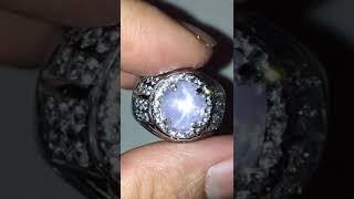 BLUE SAPPHIRE SRILANKA SAFIR CEYLON - NO HEAT