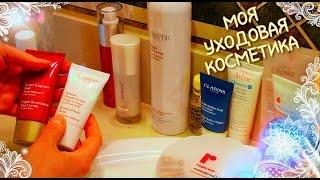 Уход за лицом. Моя уходовая косметика для лица. Что в моей ванной комнате?(, 2015-02-25T01:29:57.000Z)
