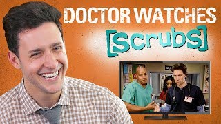 Real Doctor Reacts to SCRUBS | Medical Drama Review | Doctor Mike thumbnail