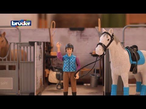 Bruder Toys Bworld Set Horse Barn #62506