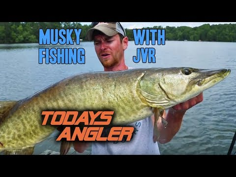 Musky Fishing Northern Wisconsin with JVR