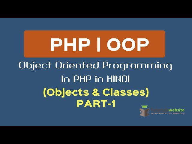 OOPS Concept in PHP in HINDI | Objects & Classes | Part-1