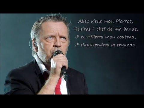 Renaud - Chanson pour Pierrot Paroles