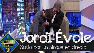 Jordi Évole sufre un ataque de cataplexia y asusta a Pablo Motos en directo - El Hormiguero