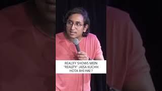 Cookery Reality Show | YT #Shorts by Appurv Gupta aka GuptaJi | Stand Up Comedy
