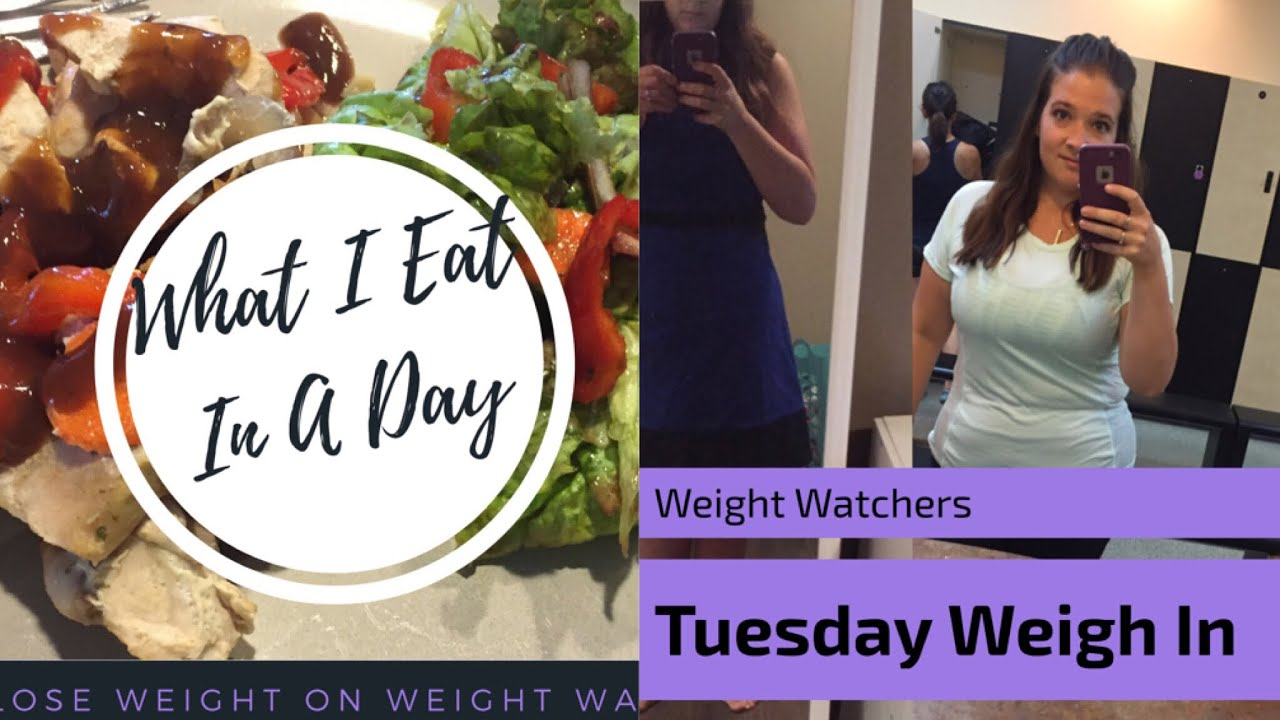 Weight Watchers What I Eat Day Before Weigh In And Weigh In Results Youtube