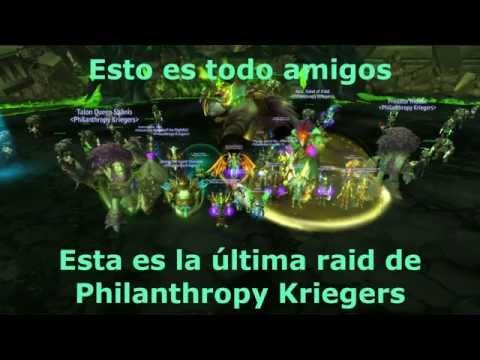 Philanthropy Kriegers vs Archimonde - Mythic (Destruction Warlock POV)