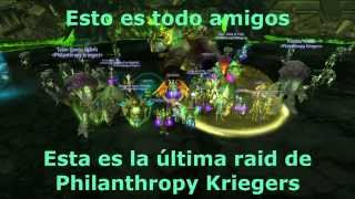 Philanthropy Kriegers vs Archimonde - Mythic (Destruction Warlock POV)