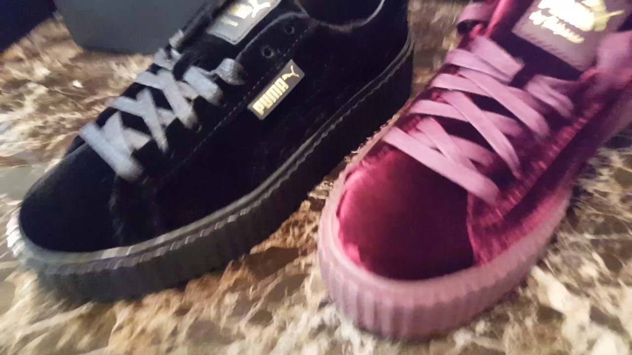 Authentic Rihanna Puma Creepers - YouTube 90b79413a