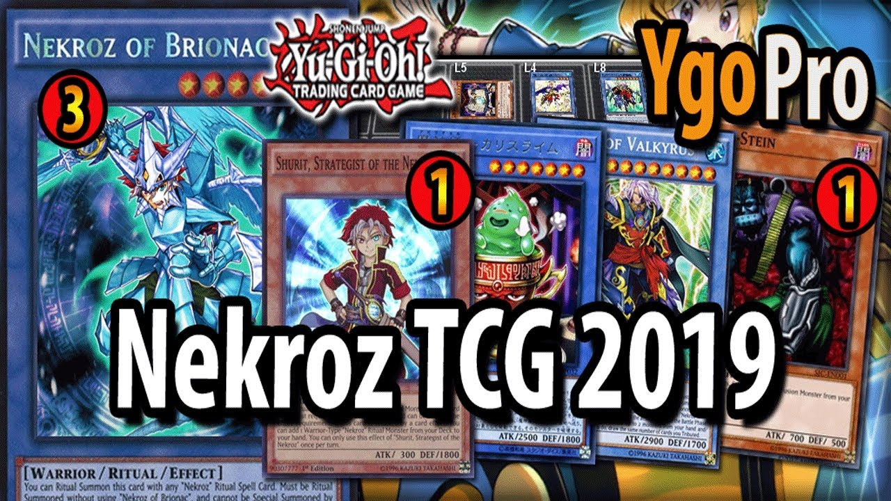 Nekroz NEW FORMAT!! | TCG 2019 (vs  Salamangreat)