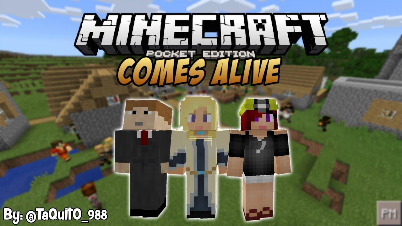Скачать Minecraft Comes Alive для Minecraft PE 0.14.0