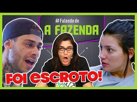 """🔴TRETA, MIJADA E BEBEDEIRA   COMENTANDO A FESTA FUTURISTA   """"A FAZENDA 10""""   Programa de 22/09/2018"""