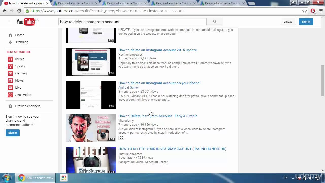 Video Proofs How Can You Rank Your Youtube Videos On 1st Page 2016 Video  Proofs How How To Delete Your Instagram