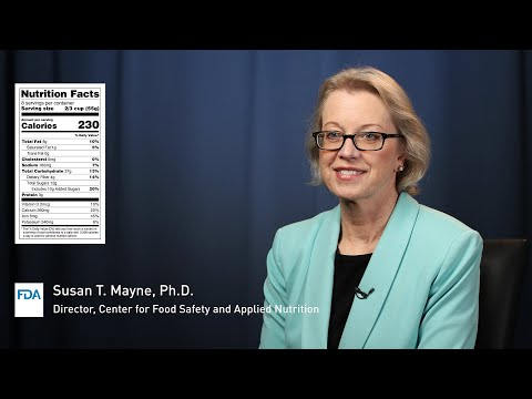 The New Nutrition Facts Label: Q&A With FDA's Susan Mayne