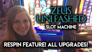 What Happens if you Get All Upgrades on Zeus Unleashed Slot Machine?