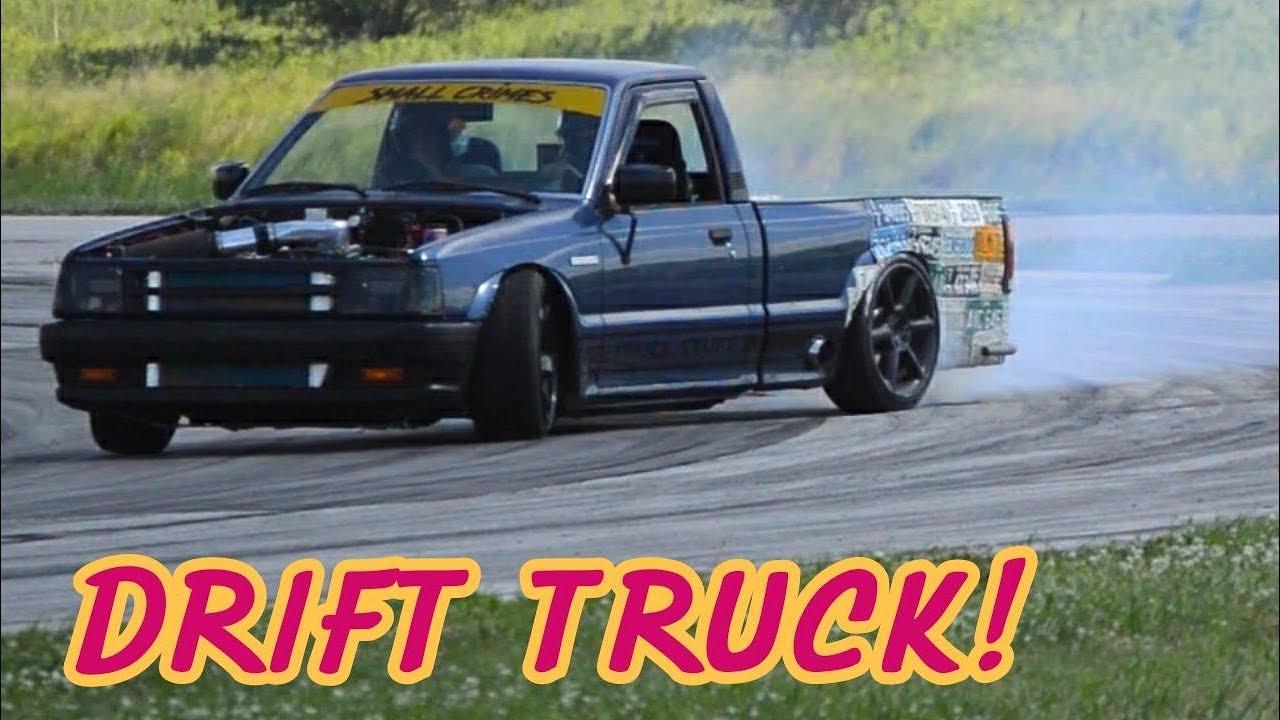 V8 Drift Truck First Event
