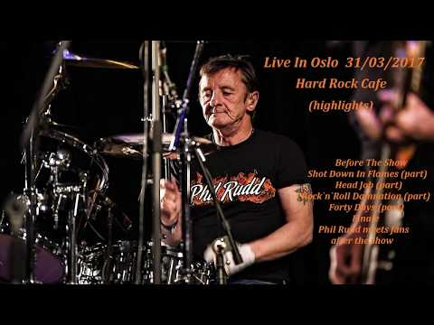 AC/DC`s Phil Rudd - Live In Oslo (highlights)