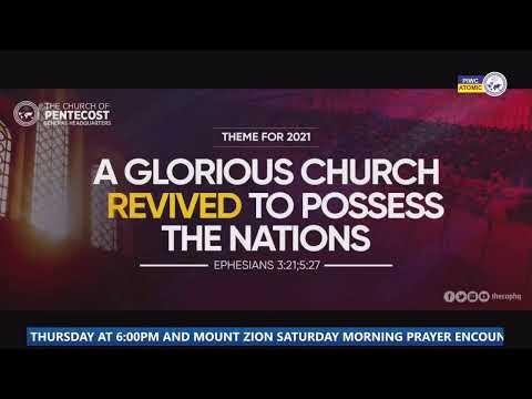 MOUNT ZION SATURDAY MORNING PRAYER SERVICE