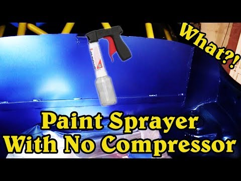 Using The Preval Paint Sprayer System