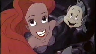 The Little Mermaid (1989) Trailer (VHS Capture)
