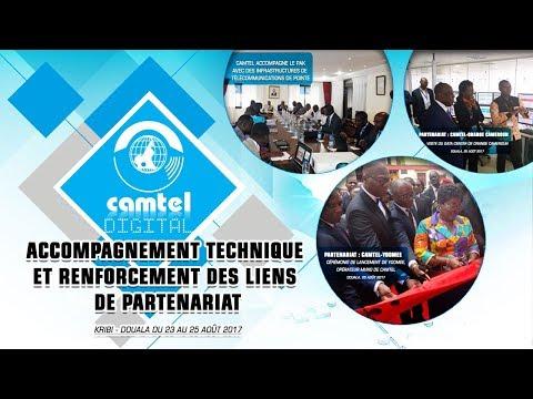 Camtel accompagne et soutient ses partenaires: Kribi - Douala, 23 - 25 Août 2017