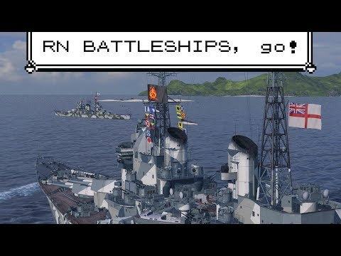 """First Look // Royal Navy Battleships / """"Victory Is Ours"""""""