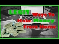 Ways To Make Money From Home | Legitimate Work At Home Jobs | Make Money | Mario Cottman