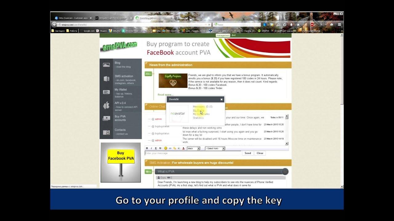 SMSPVA COM - automatic service that accepts verification