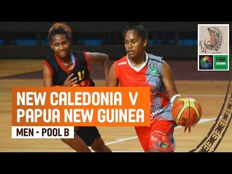 New Caledonia v Papua New Guinea (Women) - Full Game - 2014 FIBA Oceania U19 Championship