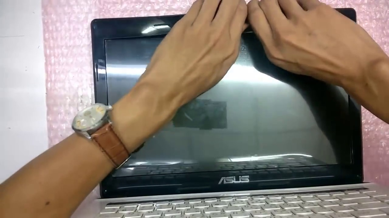 disassemble (bongkar) asus A451lb - YouTube
