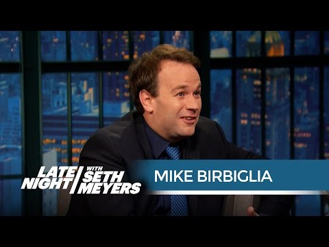 Mike Birbiglia Talks Co-Starring in Trainwreck - Late Night with Seth Meyers